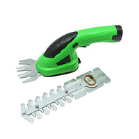 Dual Blade Electric Grass Hedge Trimmer Cordless Lawn Mower Rechargeable Lithium Battery Garden Grass Cutter Shear Hedge Trimmer