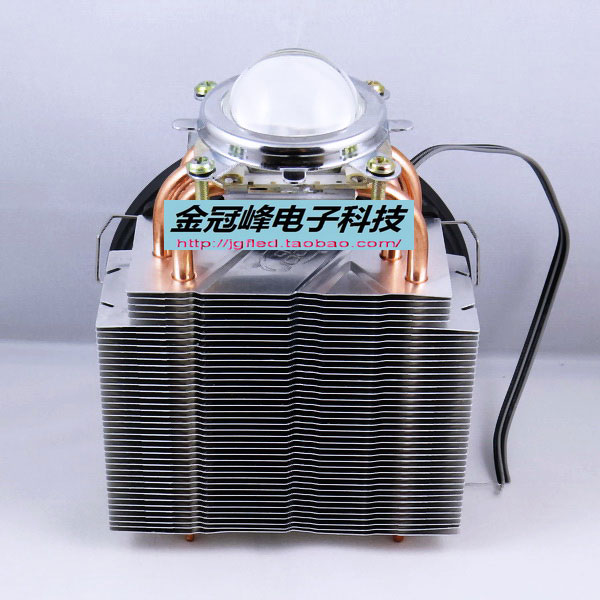 100W LED lamp copper heat pipe quiet towers Cooling computer fans Radiator lens reflector cup Kit 56 56 3mm super copper vapor chamber cooling thermal flat heat pipe block plate for power led pc cpu video card radiator