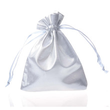 10 Pack/Lot 12 Colorful Organza Pouches Adjustable Jewelry Packing Satin drawstring 10x12cm Wedding Gift Bags &