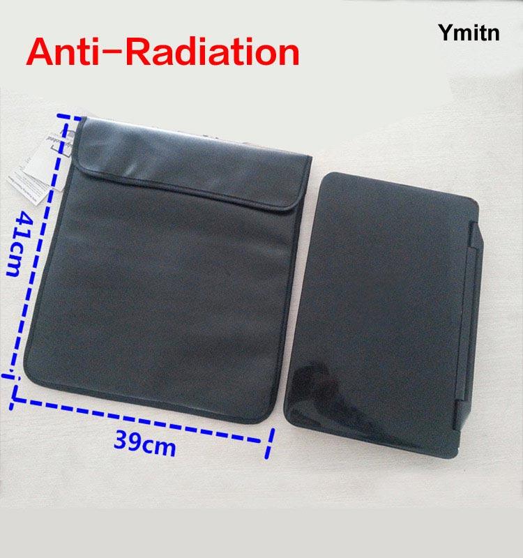 Nuovo Ymitn Doppio strato Sacchetti DELL'UNITÀ di elaborazione RF Signal Blocker Anti-Radiation Shield Cassa Del Sacchetto 41x39 cm per grande telefono/computer