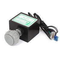 Vehicle Gray Plastic Knob Temperature Control Refrigerator Thermostat DC24V 10A
