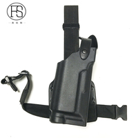 Whit Light Airsoft Safariland Duty Holster Tactical Holster Gun Pistol Leg Holster Right Hand Fit For