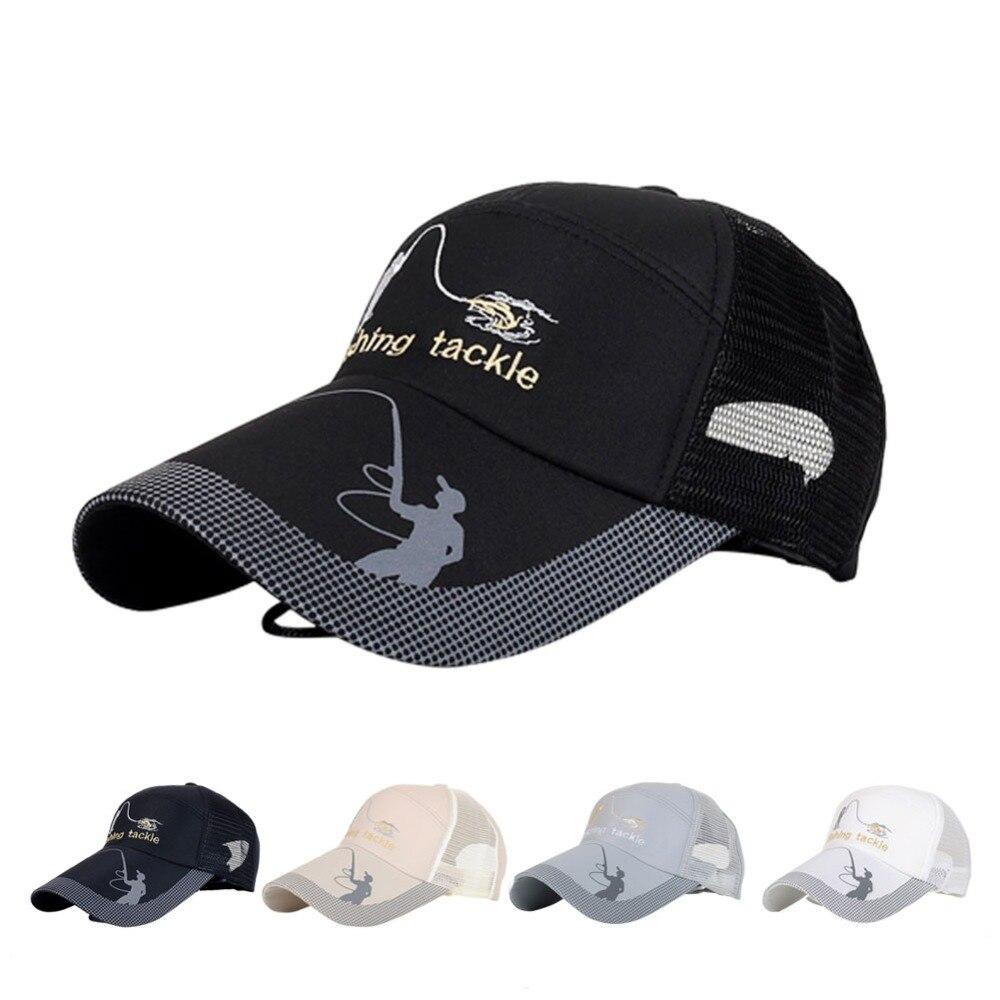 Unisex men women adjustable fishing cap snapback golf for Womens fishing hat