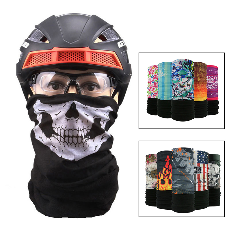 New Bycycle Riding Ski Mask Outdoor Sports Training Mask Thickening Fleece Warm Hoods Autumn And Winter Windproof Cold Smog Mask And To Have A Long Life. Sports & Entertainment Cycling Face Mask