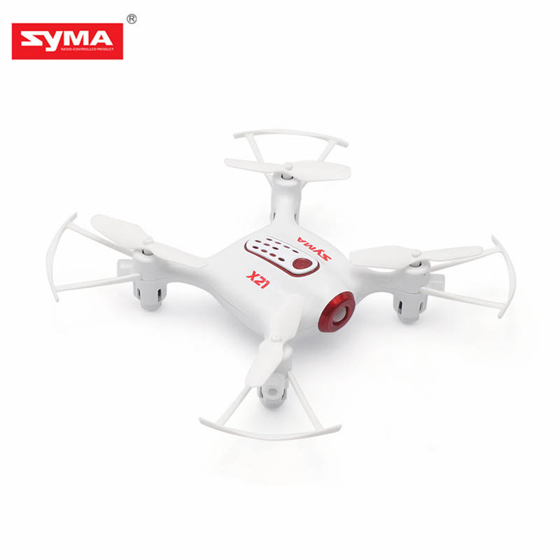 High Quality Syma X21 Mini Pocket Drone 2.4G 4CH 6Aixs Headless Mode Altitude Hold Mode RC Quacopter RTF RC Toys RC Helicopter