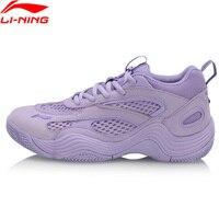 Li-Ning Women REBIRTH 농구 문화 신발 통기성 아빠 신발 LiNing li ning 착용 스포츠 신발 스 니 커 즈 AGBP012 XYL255