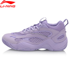 Li Ning Women REBIRTH Basketball Culture Shoes Breathable Dad Shoes LiNing li ning Wearable Sport Shoes Sneakers AGBP012 XYL255