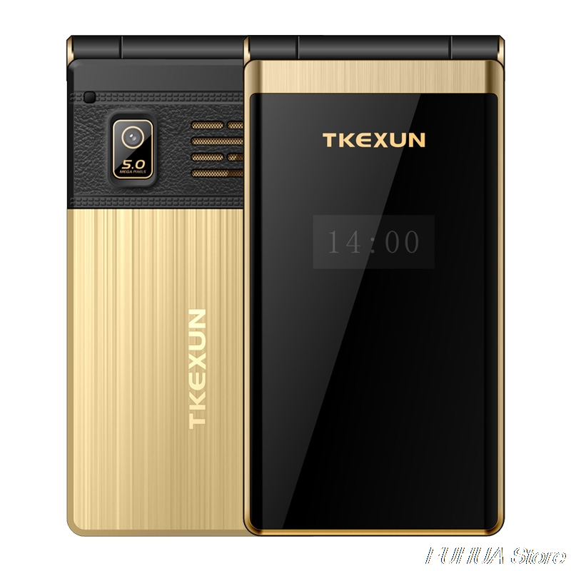 TKEXUN M2 PLUS 3.0 ''grande clé police écran tactile 3G WCDMA téléphone Mobile téléphone une clé cadran vieil homme Celulares PK G10 FM - 4