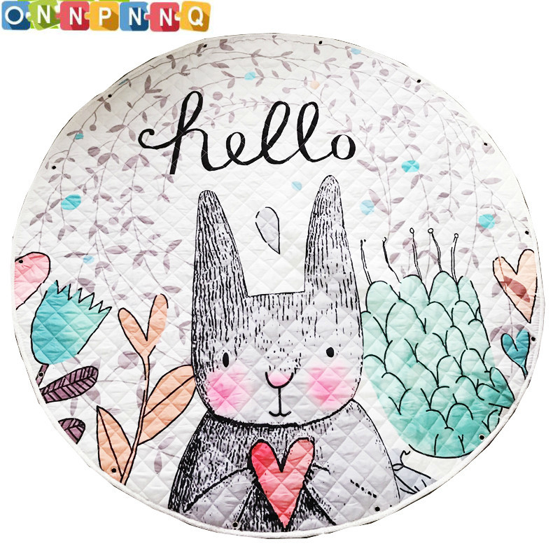 Cartoon Soft Baby Play Mat Kids Rug Floor Mat Boy Girl Carpet Game Mat Baby Activity Mat For Children Educational Toy lg fh4a8tdn2 white