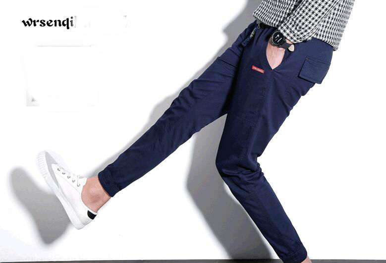 Discount  Fashion Men Nine Trousers 2018 Popular Stylish Hot Sales(China)