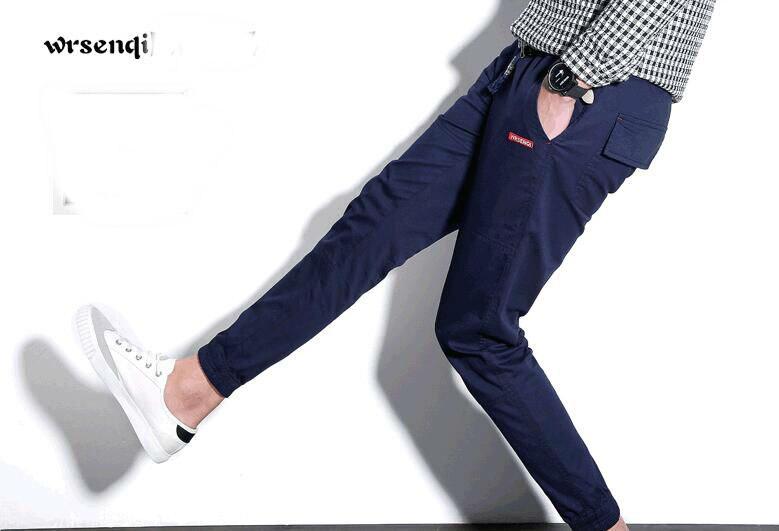 Descuento moda hombres nueve Pantalones 2018 con estilo popular ventas calientes