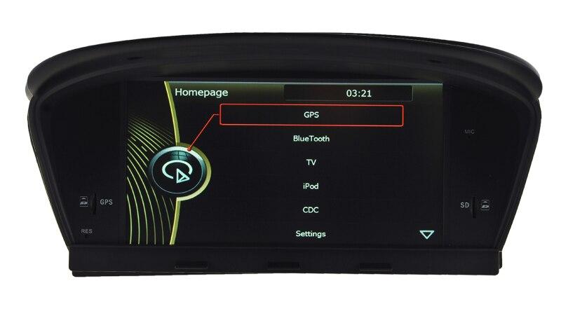 IOKONE Автомобиля Видео DVD CD Стерео Проигрыватель Для BMW <font><b>E60</b></font> X5 С FM/AM, <font><b>Bluetooth</b></font>, GPS, iPod, Управление Рулевого Колеса БЕСПЛАТНАЯ карта SD карты
