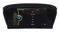 IOKONE Car Video Player For BMW E60 X5 With FM AM Bluetooth GPS IPod Steering Wheel