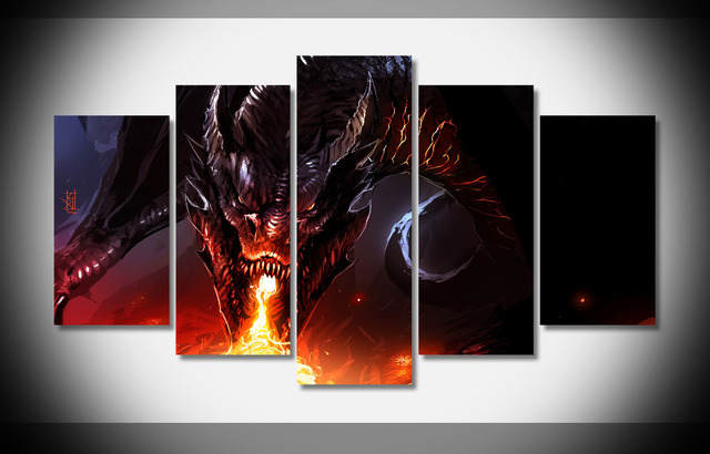 8155 Dragon Fire Smaug The Hobbit Lotr Lord Rings Fantasy
