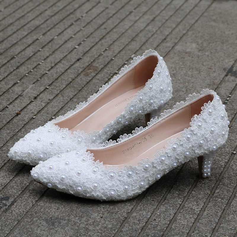 2 Inches Kitten Heel Girl Dress Shoes