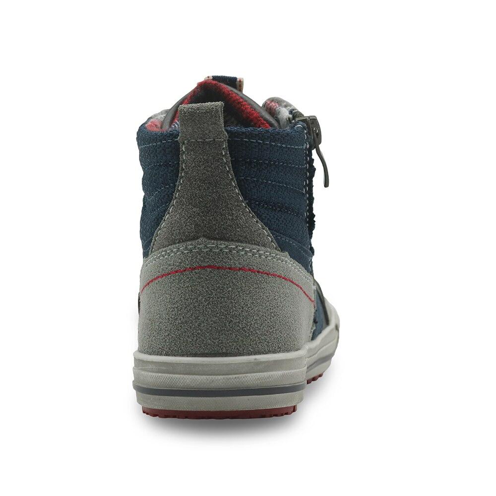 Image 4 - Apakowa automne garçons bottes en cuir Pu cheville Martin bottes avec soutien de la voûte plantaire chaussures de loisir à la mode pour les garçons avec fermeture éclair EU 32 37boys bootsboys fashion bootsboots boys -