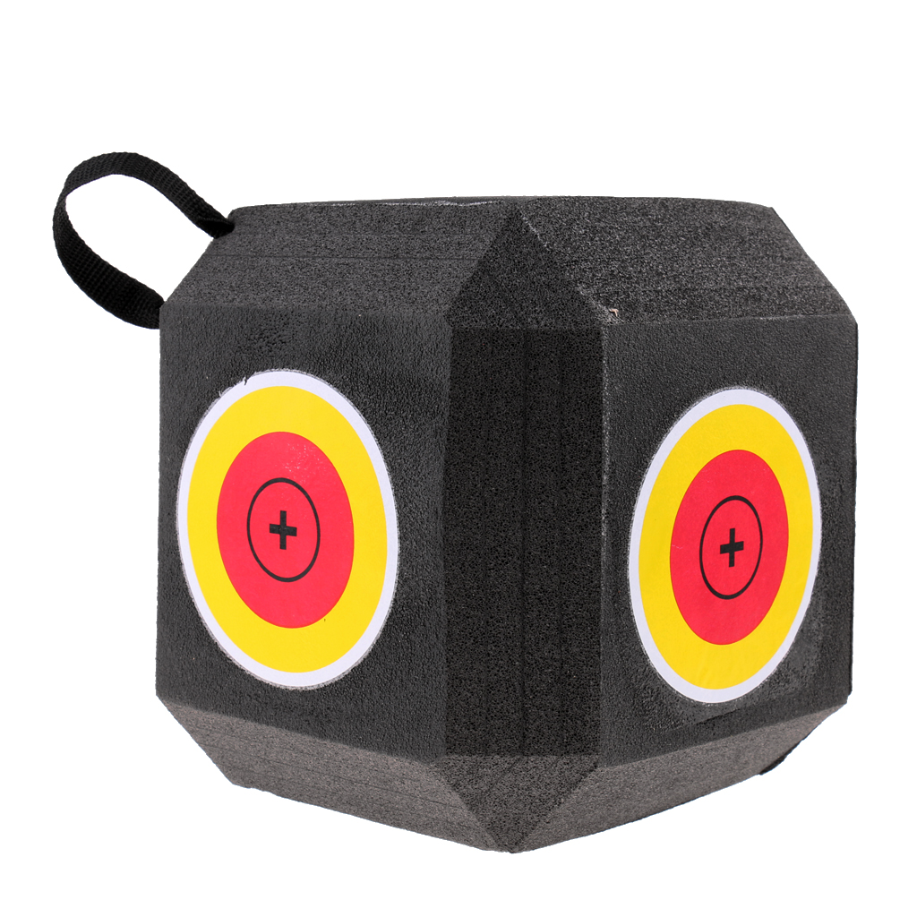 Image 3 - 18 Sided 3D Cube Reusable Archery Target Constructed with Rapid Self Recovery XPE Foam for all Arrow Types Hunting Shooting-in Paintball Accessories from Sports & Entertainment