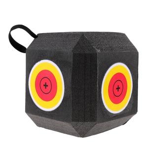 Image 3 - 18 seitige 3D Cube Wiederverwendbare Bogenschießen Ziel Gebaut mit Schnelle Selbst Recovery XPE Schaum für alle Pfeil Arten Jagd schießen