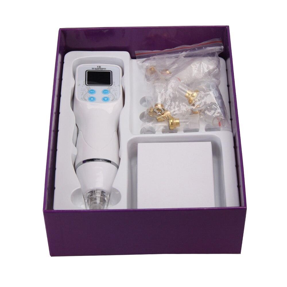 Skineat Новое поступление Diamond машинка для микродермабразии кожи пилинг вакуумный удаление черных точек устройства шрам акне инструмент для ч...