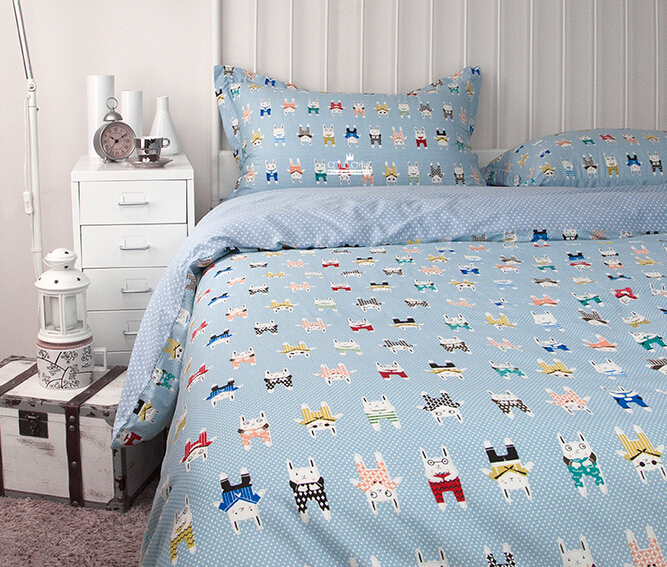 Superieur 2015 New 100%Cotton Cartoon Kids Bedding Set Ikea Casa Boho Duvet Cover Bed  Sheet Twin/full/queen Bedspread Bed Linen Free Ship In Bedding Sets From  Home ...