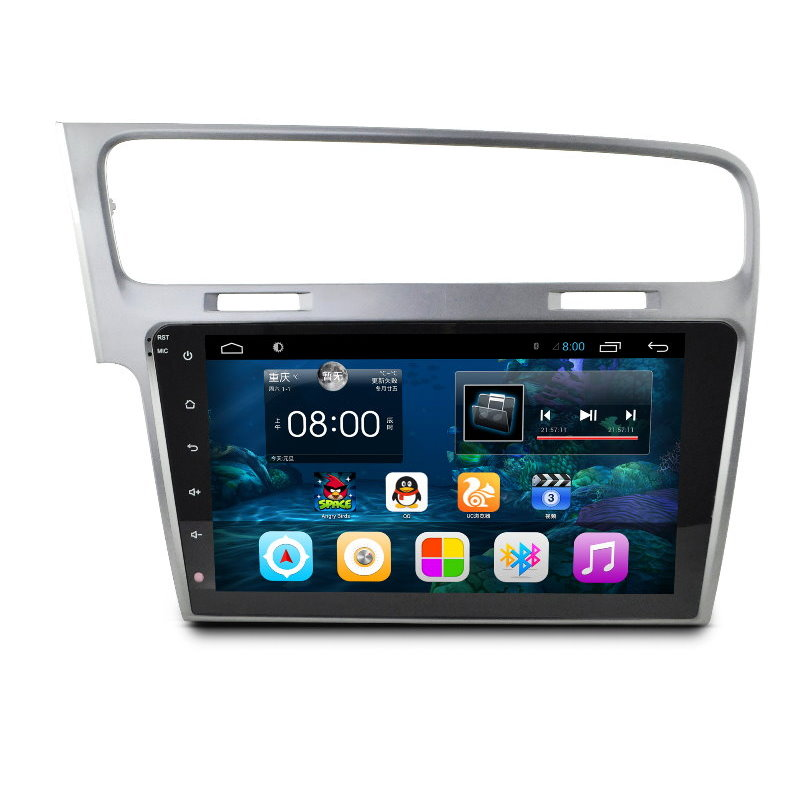 For Volkswagen VW Golf MK7 2012~2015 10.2 Android HD Capacitive touch Screen GPS NAVI Radio TV Movie Andriod Video System image