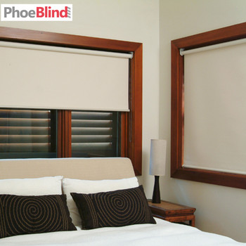 Online Shop High Quality 38mm Thicken Tube Blackout Roller blinds