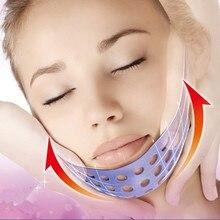 1 шт., маска для сна, для похудения, двойная, для лица и подбородка, силиконовая, мощная, V, для подтяжки лица, инструменты для макияжа, тонкий ремень, ремешок