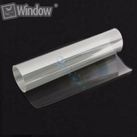 Sunice 4mil Transparent Security Window Film Wrap Clear Glass Film for Home/Office/Auto car Safety Protector 1.52x1m