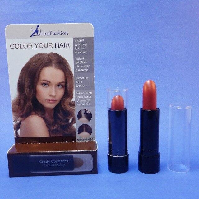 Baton de coloration pour cheveux blancs