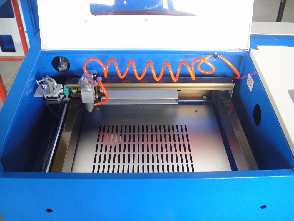 Free Shipping Version KT 3020 Laser Co2 40W CNC Laser Cutting Machine Laser Engraving Machine P1 configuration in Wood Routers from Tools