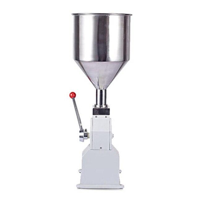 อาหารเครื่องมือความดันสแตนเลสวาง dispensing liquid บรรจุภัณฑ์อุปกรณ์ขายครีมเครื่อง 1 ~ 50 ml