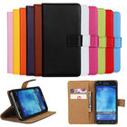 Luxury Genuine Leather Case For Samsung Galaxy 2015 J5 Flip Wallet Cover+Card Holder with Stand Case For Samsung J5 J500 J500F