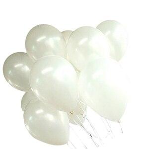 Image 4 - 100バルーンバースデーウェディングパーティーの装飾クラブ風船25センチメートル色: 白