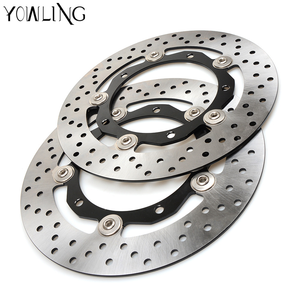 YOWLING motorcycle Parts Accessories Front Floating Brake Discs Rotor for YAMAHA TMAX530 XP530 2012 2013 2014 starpad for lifan motorcycle lf150 10s kpr150 new front brake discs accessories