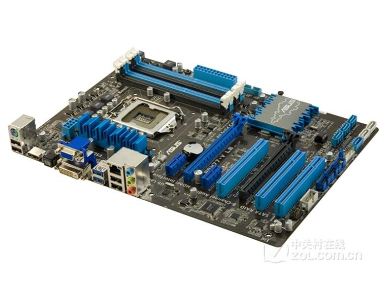 P8H77-V le LGA 1155 DDR3 pour i3 i5 i7 cpu 32 GB USB2.0 Bureau carte mère