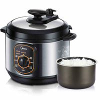 Midea 4Lelectric Pressure Home Smoker Cooker Electric Cooking Fast Rice Cooker MY 12CH402A