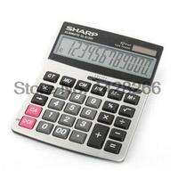Genuine Original SHARP EL G1200 Office Business Desktop Calculator Large Metal