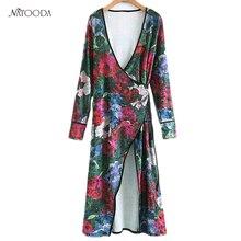 NATOODA Fashion Velvet Print Kimono Shirts Elegant Tunic Cross Sashes Blouse Women Long Warm V-neck Sexy Tops Blusas XY2721
