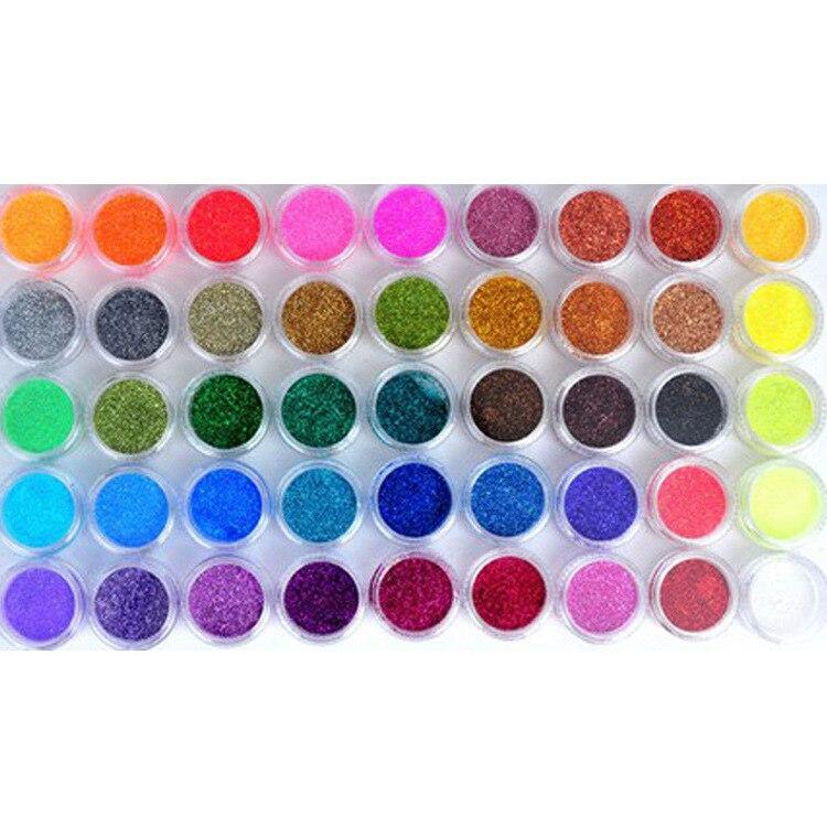 XT011 Best qualità Glitter per unghie all'ingrosso Glitter per unghie Lucido di Modo Glitter per unghie Polvere in acrilico in polvere