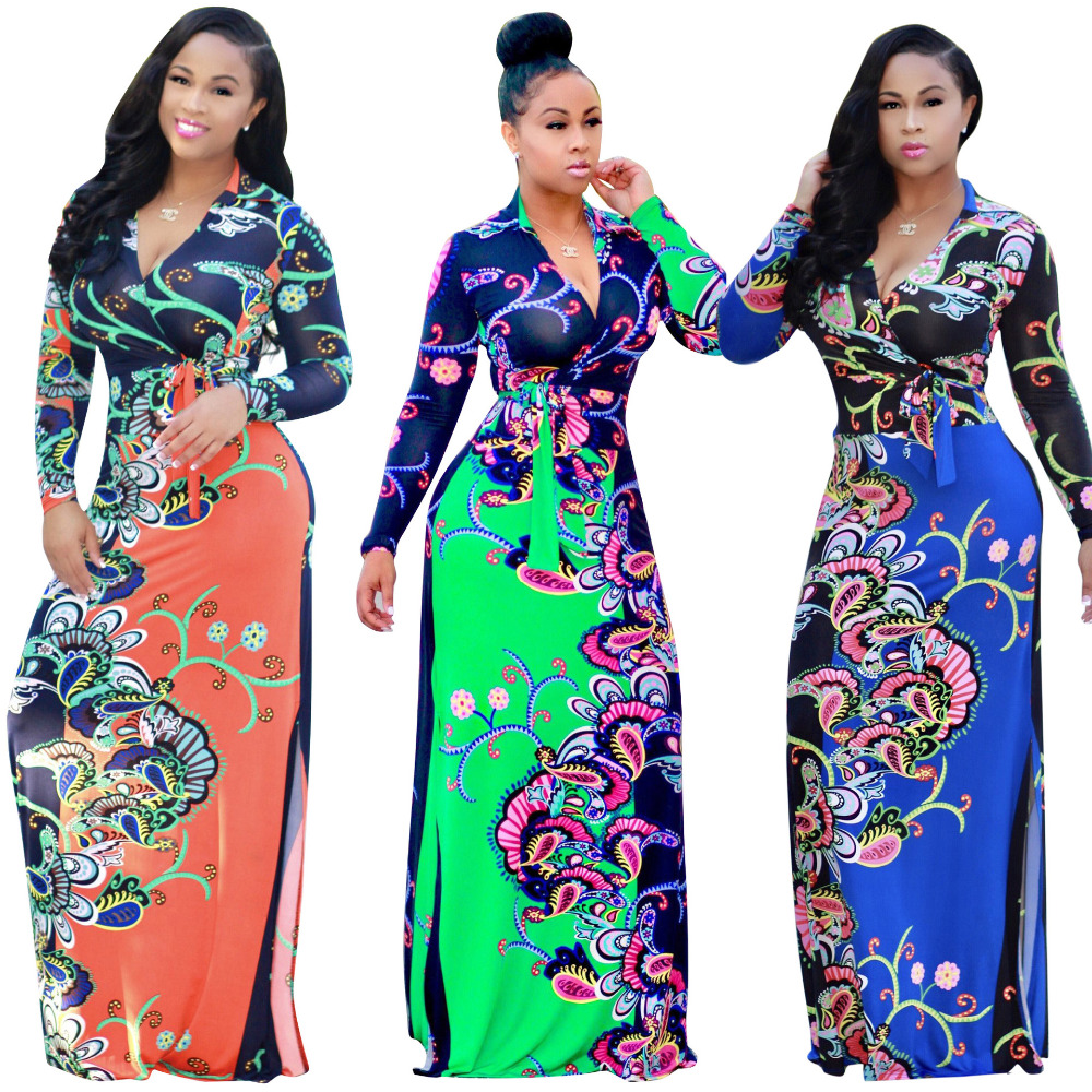 Popular African Traditional Dresses-Buy Cheap African -5308