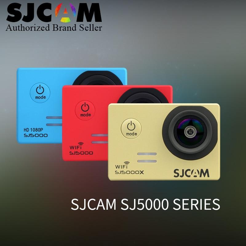 100% Original SJCAM SJ5000 Series SJ5000 / SJ5000 WiFi /SJ5000X 4K 1080P helmet Action Camera SJ cam DV vs sj4000 M20 go pro CAM