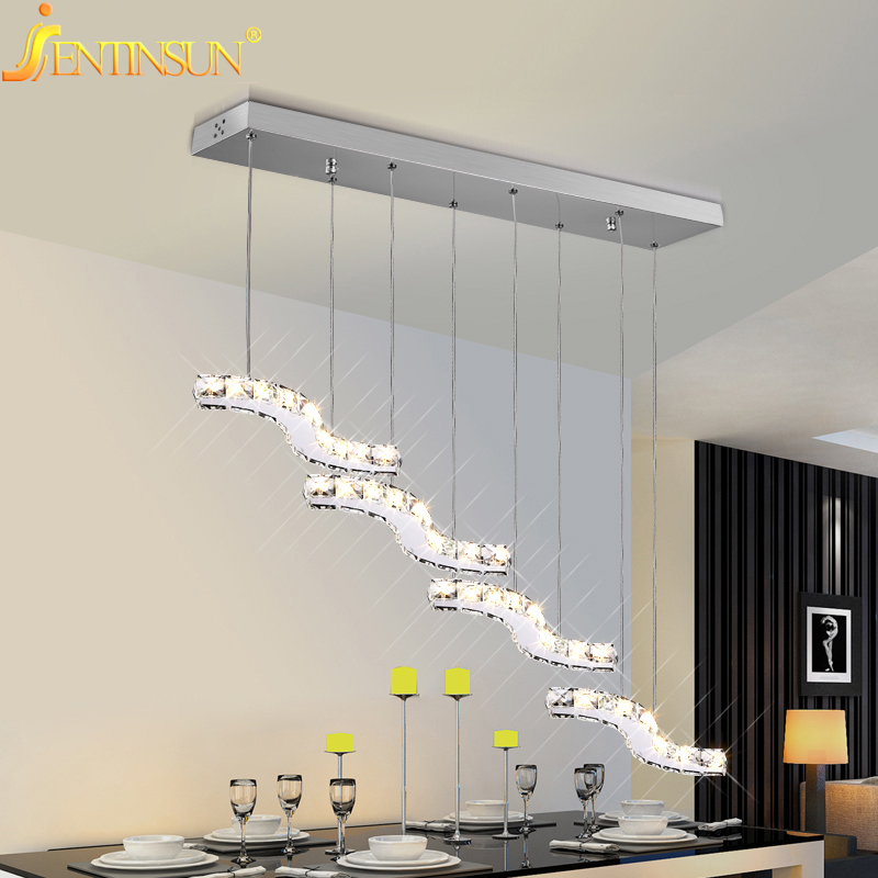36W Pendant Lights Modern Gold Clear Crystal Lamps Dining Room Glass Light New Modern Designer Home Fixtures Lighting lamparas 2016 new luminaire lamparas pendant lights modern fashion crystal lamp restaurant brief decorative lighting pendant lamps 8869