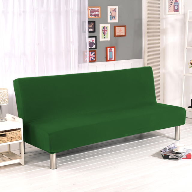 Stretch Sofa Cover Elastic Without Arm Couch Slipcovers Cheap Bed Covers For Livingroom