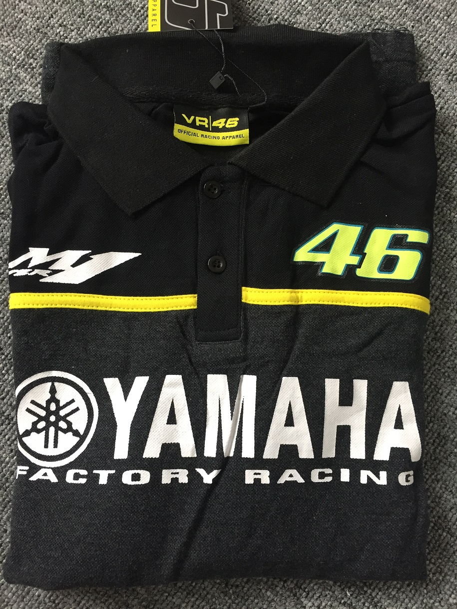 MotoGP VR46 for Yamaha M1 sports golf men polo motorbike jersey for valentino rossi Racing motorcycle motocross polo T-shirt DH