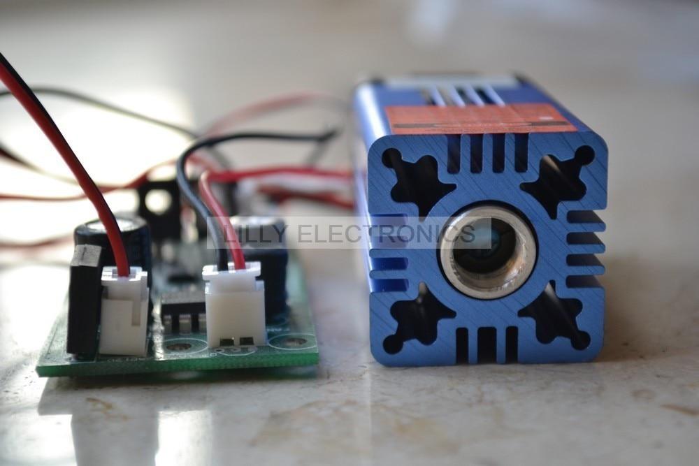 635nm 638nm 500mw Orange Red Laser Dot Module 12V+ TTL with Cooling long time working все цены
