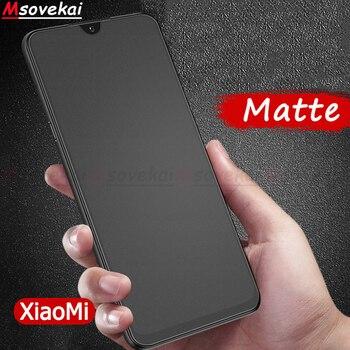 Перейти на Алиэкспресс и купить Матовое закаленное стекло для Xiaomi Mi 9 SE Mi 9 Explorer Mi Play Mix 3 для Redmi Note 7 Pro Black Shark Helo Защитная пленка для экрана