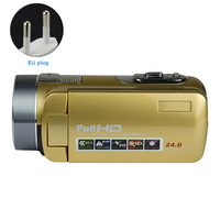 Recorder 24 Million Pixels Camera Video Camcorder Digital 16X Zoom With Plug Portable Handheld HD 1080P Durable Infrared
