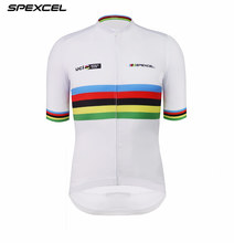 Spexcel cycling jersey UCI Pro race tight fit Cycling Clothing short Sleeve  Maillot Ciclismo MTB road bike shirt for summer fb7345b74