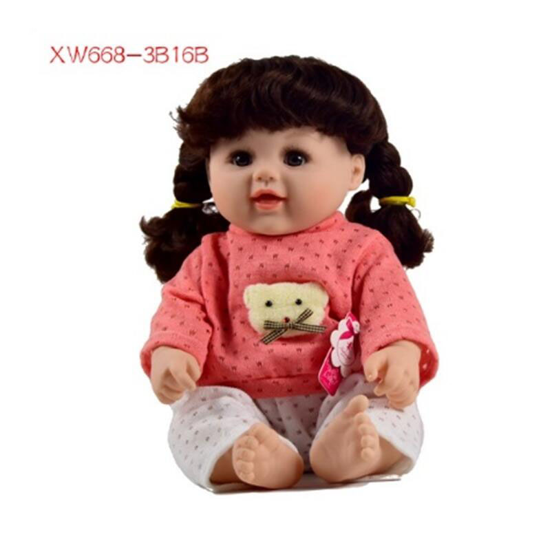 48cm best price cheap one piece Ethnic Fashion Baby Doll happy toys small doll love toys for girl games online free sticker lol