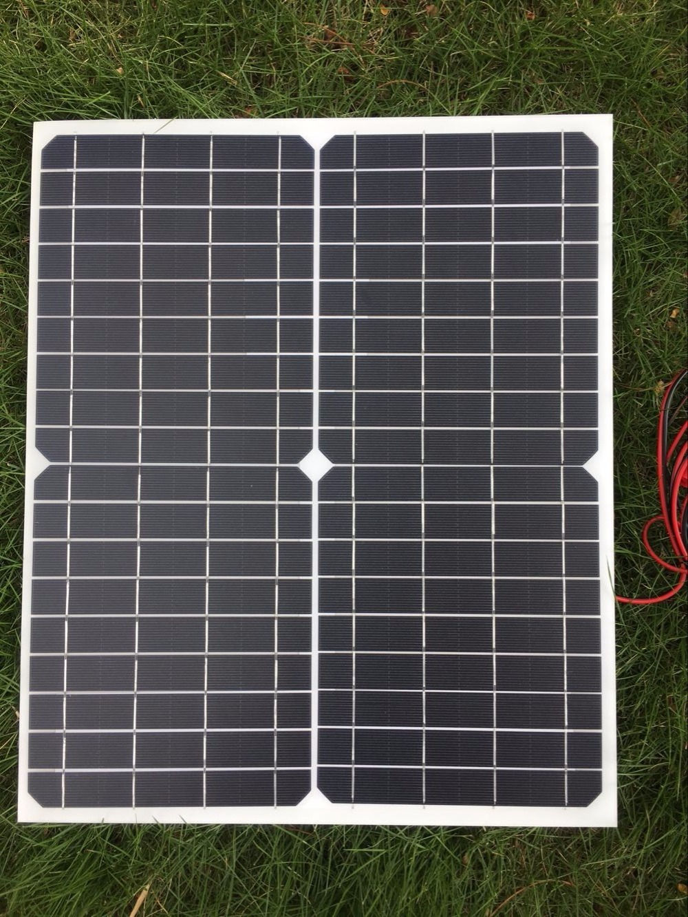 CNH 20W 18V Solar Panel Energy Semi Flexible Monocrystalline For RV Car Boat Battery Charger Solar Cells Module+ high quality 18v 2 5w polycrystalline stored energy power solar panel module system solar cells charger 19 4x12x0 3cm
